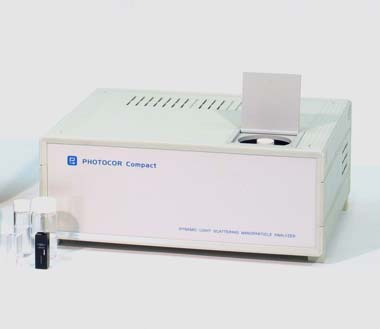 Particle size and zeta potential analyzer Photocor Compact-Z