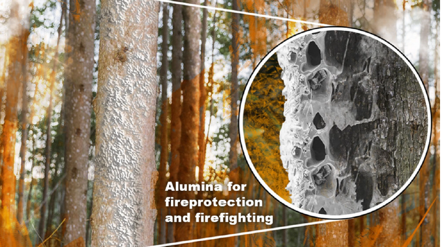 Alumina Nanoparticles for Firefighting and Fire Prevention
